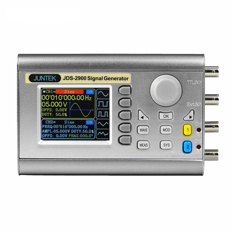 JDS2900 DDS Signal Generator Counter Digital Control Sine Frequency Dual-channel 60 MHz Signal Source 40%off