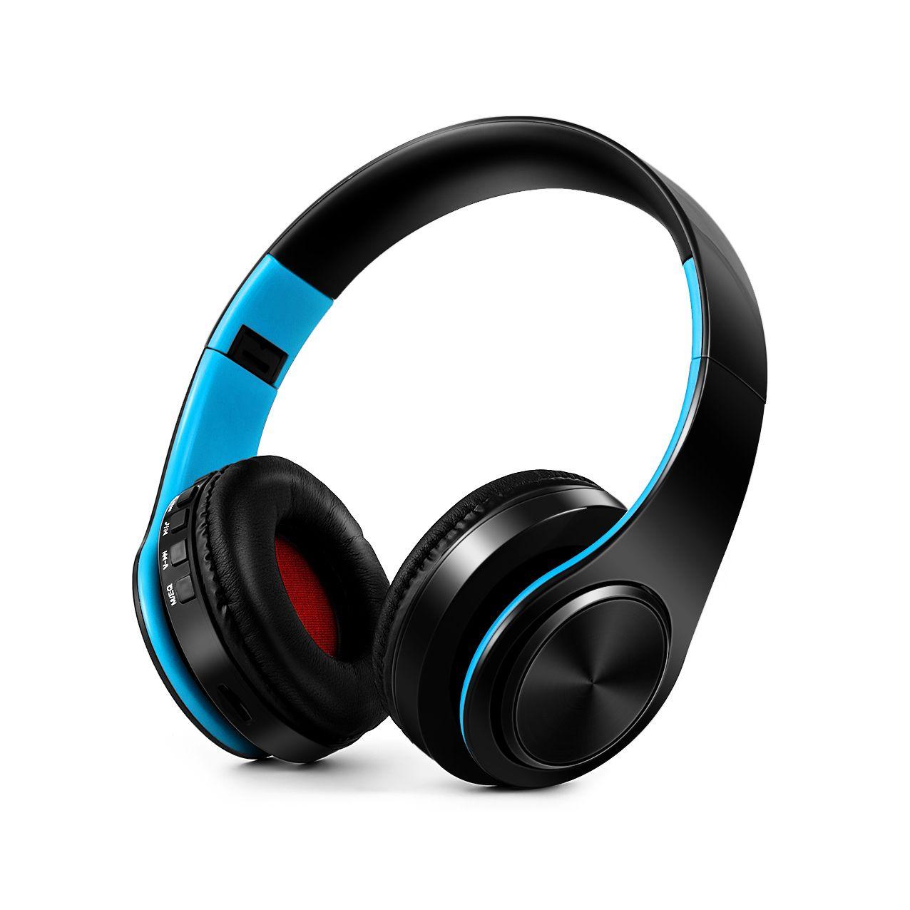 EASYIDEA Bluetooth Écouteurs Sans Fil Stéréo Casques Sport Pliable Casque Supporte la carte SD Avec Micro Casque Pour Téléphone PC
