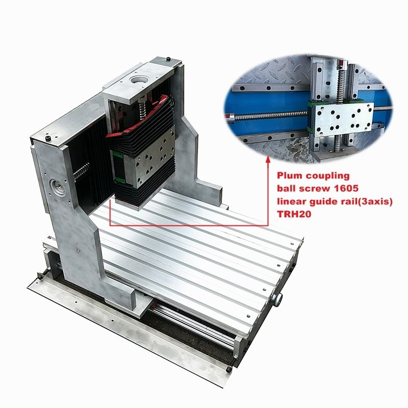 CNC 3040 Router rahmen linearführung für DIY Gravur Bohren Fräsen Maschine