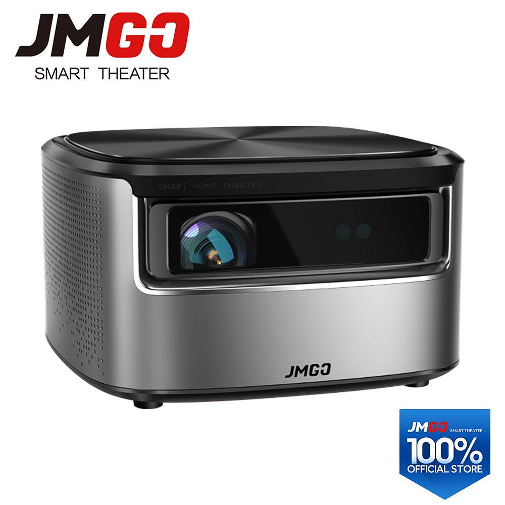 JMGO N7 Full HD Projektor, 1300 ANSI Lumen, 1920*1080 P, 2G + 16G, Smart Beamer, WIFI, Bluetooth, HDMI, USB, unterstützung 4 K LED TV