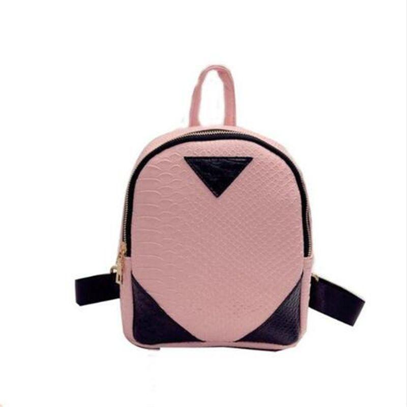 3576P New Design Women Backpacks Drawstring Bag School Bags Travel Bag Small Backpack