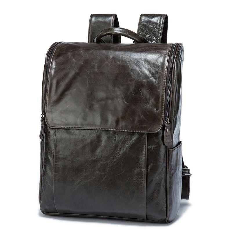 Amasie Männer Rucksack Leder Männlichen Funktionellen taschen Männer Wasserdichte rucksack große kapazität Männer Tasche Schule Taschen Für Teenager EGT0336