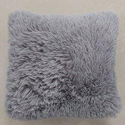 Parfait conceptions Mongol Faux Fourrure Taie d'oreiller taie d'oreiller Coussin de jet Naturel Couleur 45x45 cm