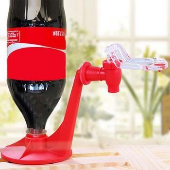 The Magic Tap Saver Soda Dispenser Bottle Coke Upside Down Drinking Water Dispense Party Bar Kitchen Gadgets Drink Machines