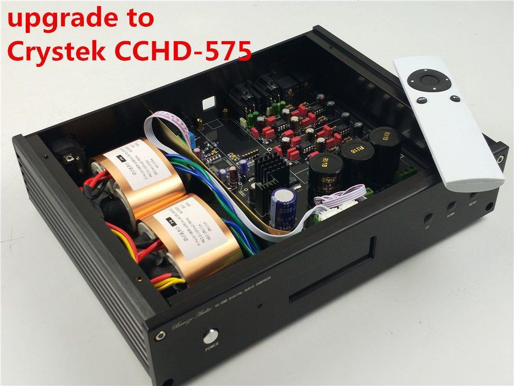 ES9038 ES9038PRO upgrade zu Crystek CCHD-575 HIFI audio DAC OPTION XMOS Oder Amanero USB NEUE Verison