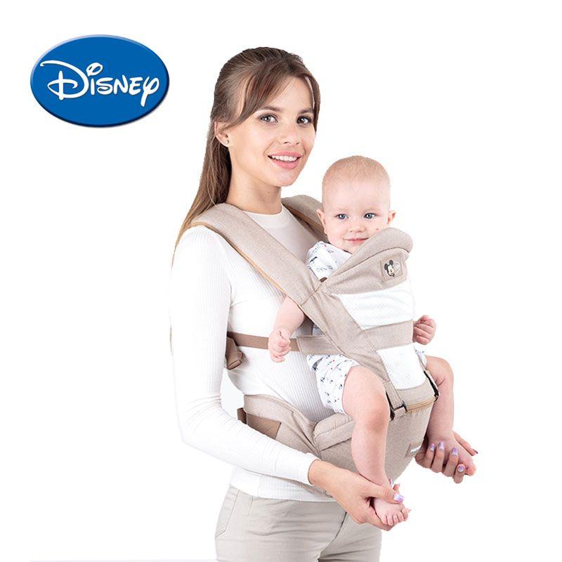Disney Sommer Atmungs Ergonomische Träger Rucksack Tragbare Infant Baby Träger Hipseat Heaps Mit Saugt Pad Kleinkind Träger
