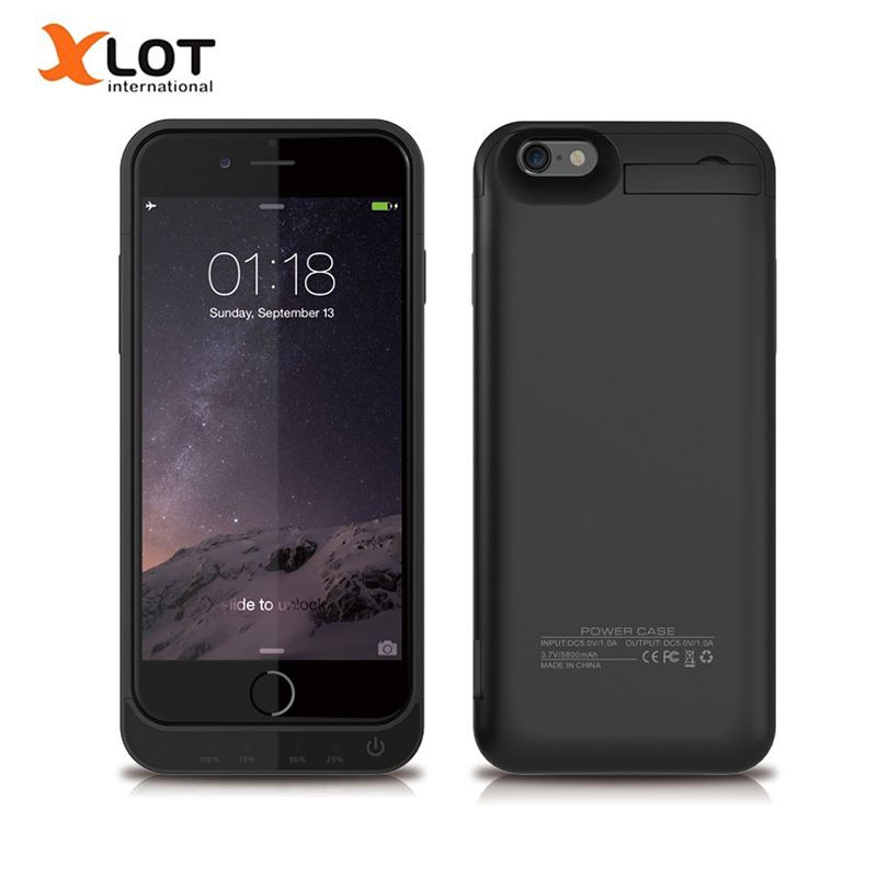 XLOT 4200mAh Battery Charger Case For iPhone 5 5s SE Powerbank Case <font><b>External</b></font> Battery Backup Pack Charging Power Case for iPhone5