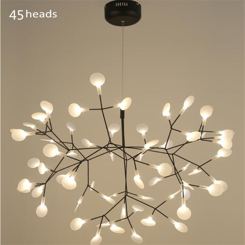 Moderne Acryl Firefly Led Anhänger Lampen Zweig Baum Design led Kronleuchter Beleuchtung lampe Lüster hanglampe Suspension Luminaria