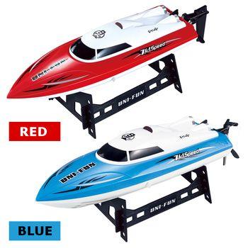 HuanQi 960 2.4G RC Racing Bateau 25 km/h Le Bateau Hors-Bord Étanche Électrique Yacht Télécommande bateaux à moteur Jouet Enfants Fun cadeau