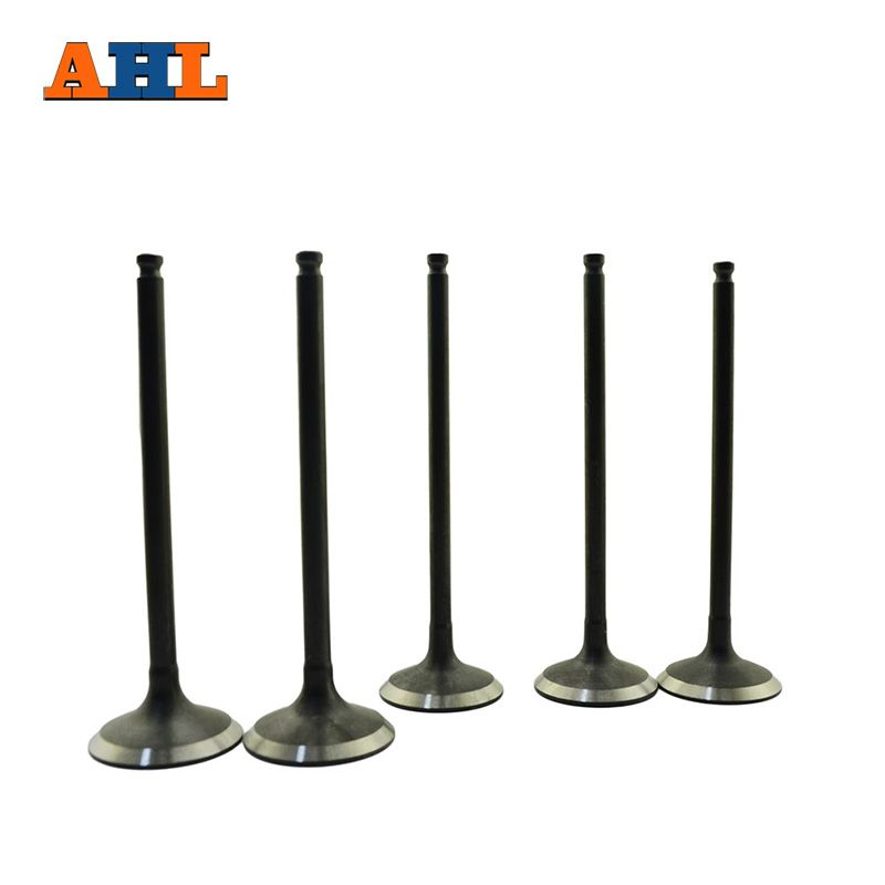 AHL 5pcs Intake & Exhaust Valve Kit Valve Stem For YAMAHA YZ250F YZ250 F YZF 250 WR250F WR250 2001-2013