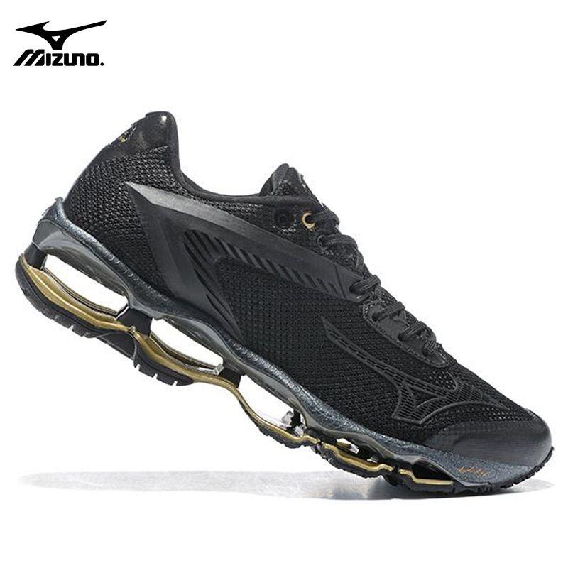 Новый Мизуни Мужская обувь кроссовки спортивная обувь кроссовки Mizuno WAVE W E TENJIN J1GR15670140 тяжелой атлетике обувь Размер 40-45