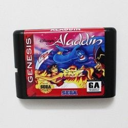 Aladdin 16 bit MD Game Card For Sega Mega Drive For Genesis