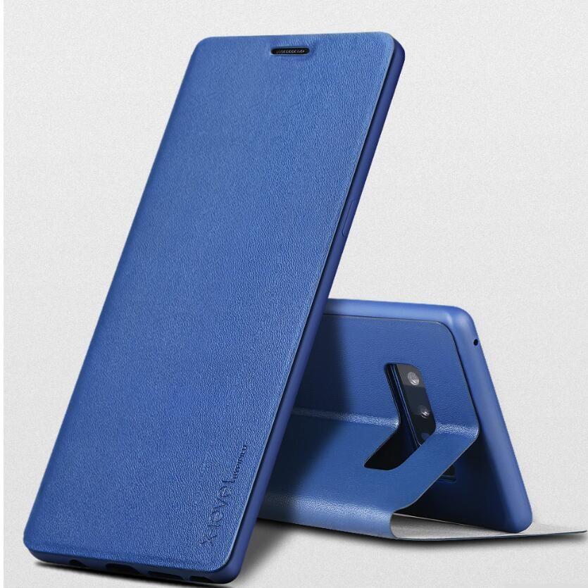 X-Wirtschaftsherrenbekleidung pu-leder Telefonkasten Für Samsung-anmerkung 8, rückseitige Abdeckung Für Samsung-galaxie Note8 N9500 case