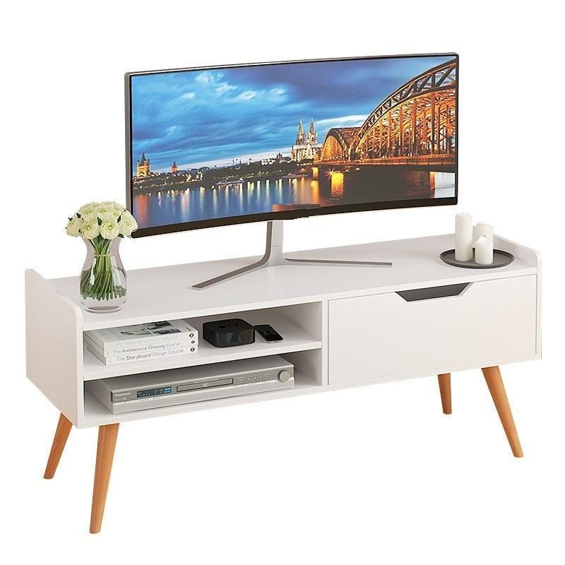 Screen Painel Madeira Para Modern Soporte De Pie Riser Nordic Wooden Mueble Table Monitor Stand Living Room Furniture Tv Cabinet