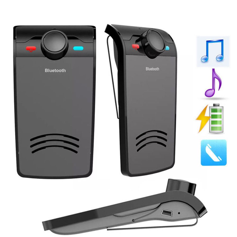 Bluetooth 3.0 EDR Car Speaker Handsfree Voiture Stereo Wireless Music Player Portable Auto Car Speakers car-styling