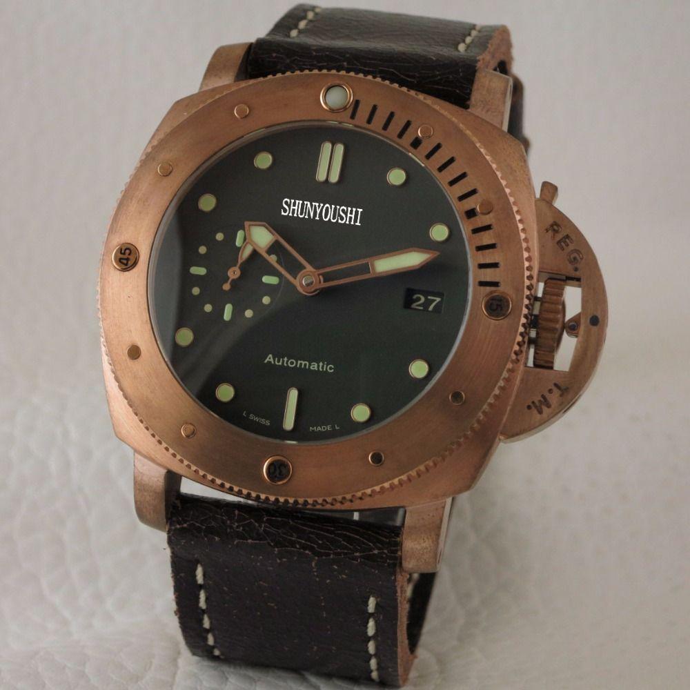 WG04108 Herren Uhren Top Marke Runway Luxus Europäischen Design Automatische Mechanische Uhr