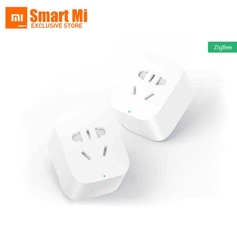 Englisch Version Auf Lager Mi Smart Zigbee Timer Stecker Handy Drahtlose Fernbedienung Xiaomi Smart-buchse Mit EU/AU/UK/US Adapter