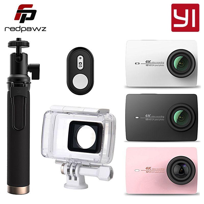 Ursprüngliche Internationale Xiaoyi YI 4 Karat Action Kamera 2 Ambarella A9SE 2,19