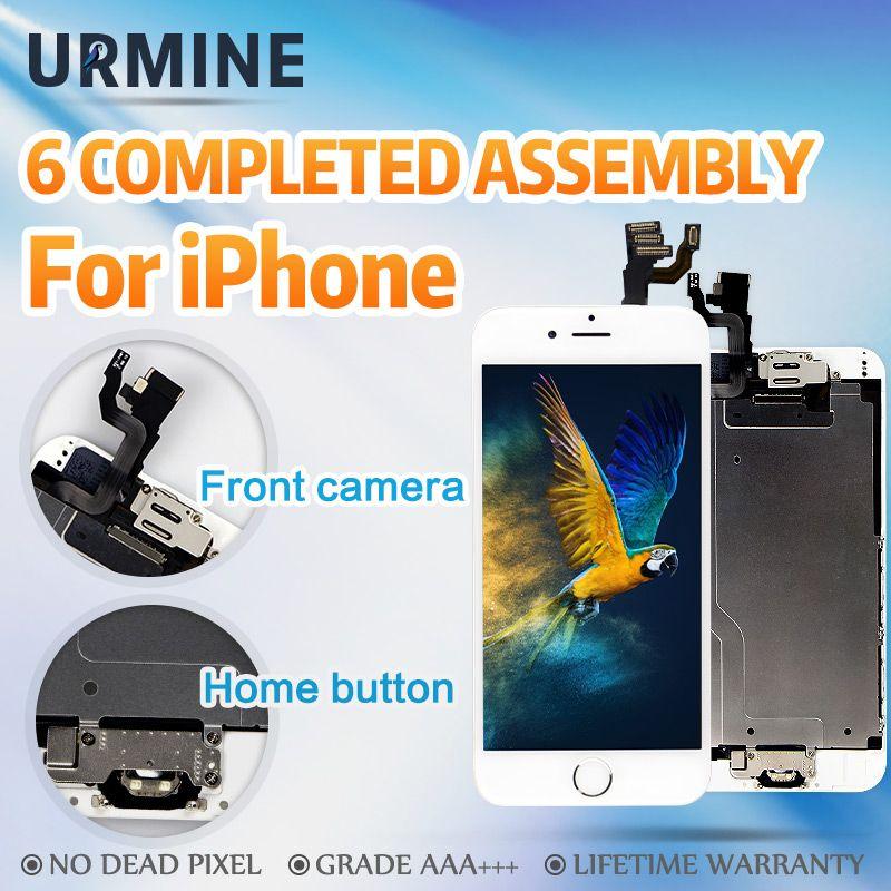 Grade AAA + + + Assemblée Complet Pour iPhone 6 6 S Plus LCD Terminé 3D Tactile remplacement de l'écran D'affichage Avec La Maison de La Caméra bouton