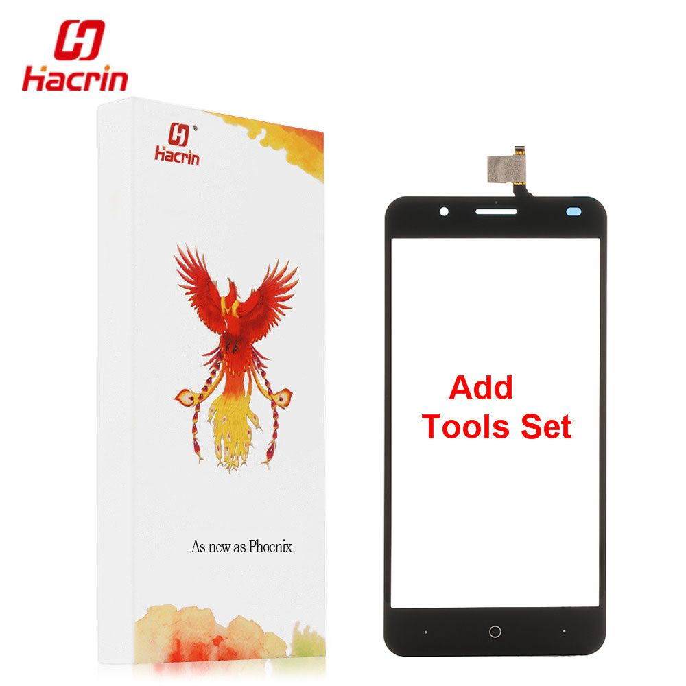 hacrin Ulefone Tiger Touch Screen + Tools Set Gift  Digitizer Glass Panel Assembly Replacement For Ulefone Tiger 5.5inch