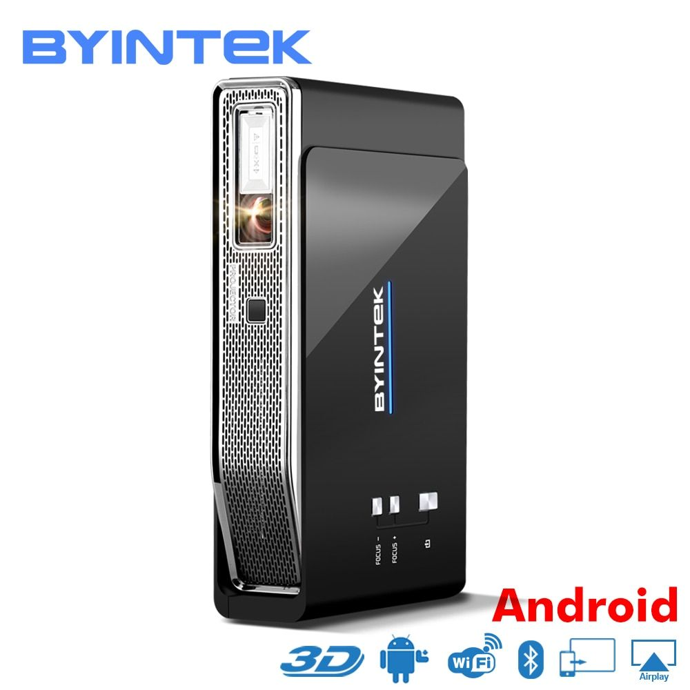 BYINTEK UFO R15 Smart Android WIFI Video Home Theater LED Tragbare lAsEr USB Mini HD DLP 3D Projektor für Volle HD 1080 p HDMI 4 karat