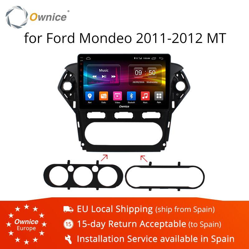 Ownice K1 K2 K3 10,1 Android 9.0 Octa Core Auto Radio für Ford Mondeo 2011 2012 GPS Audio DVD player unterstützung 32G ROM 4G LTE DVR
