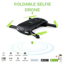 DHD D5 Selfie Drone With Wifi FPV HD Camera Foldable Pocket RC Drones Phone Control Helicopter VS JJRC H37 Mini Quadcopter Toys