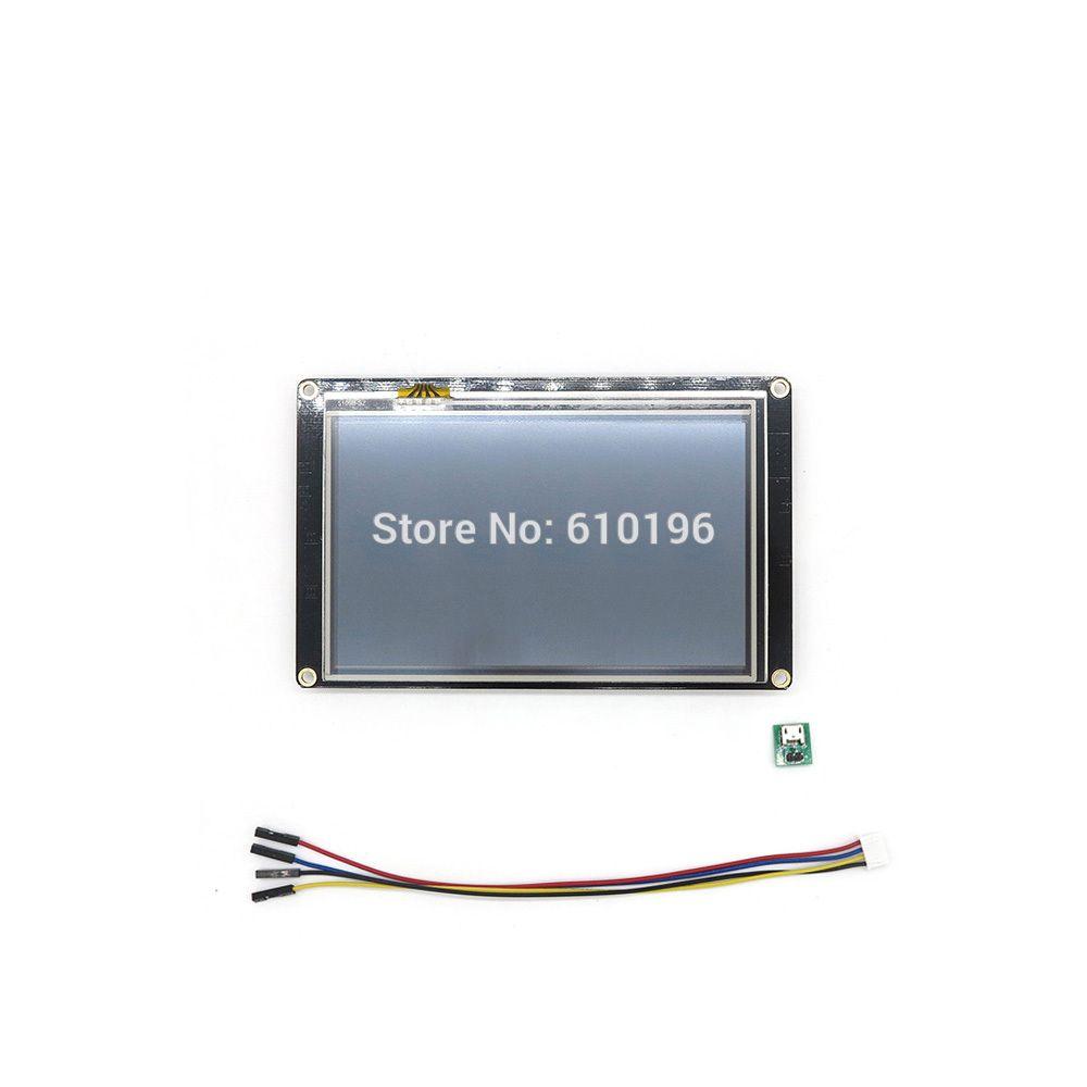 Nextion Verbesserte 5,0 ''HMI Intelligente Smart USART Uart Touch TFT LCD Modul Display Panel für Arduino Raspberry Pi
