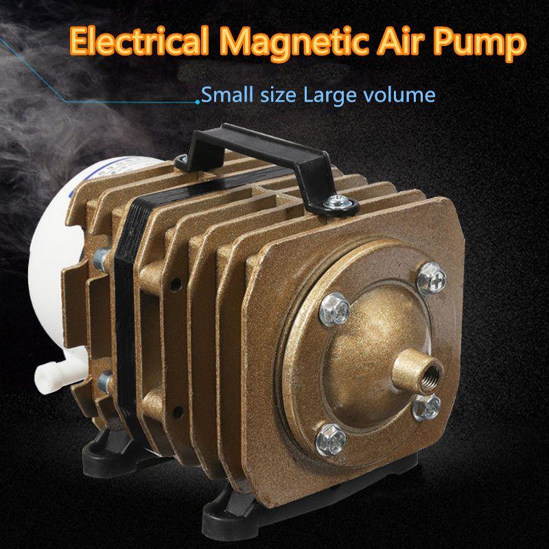 45W 220V 50L/min Electromagnetic Air Compressor Aquarium Air Pump Aqua Fish Tank Bubble Air Pump Portable Tool