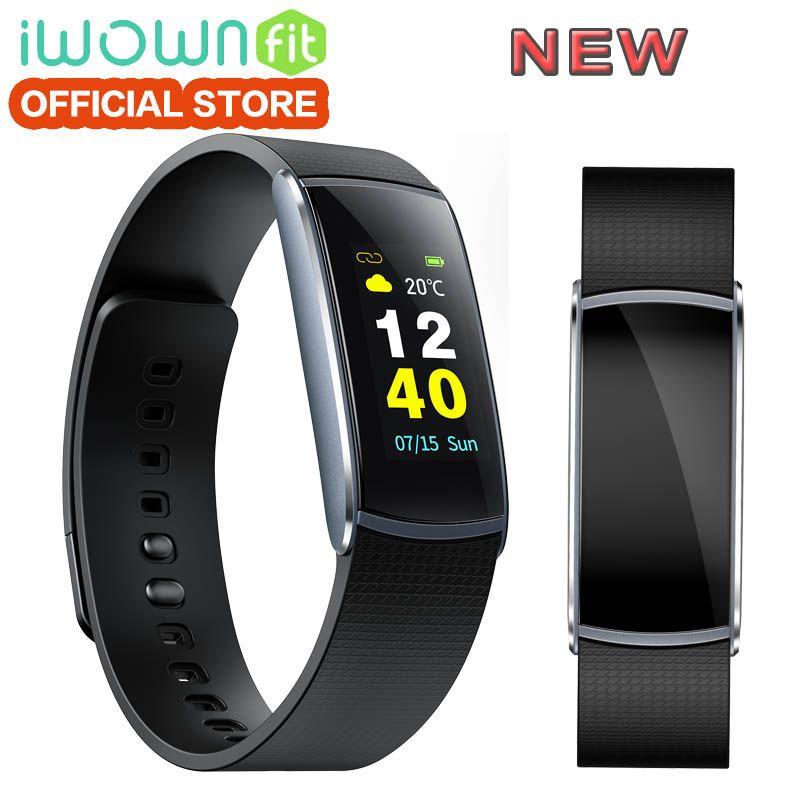 IWOWNfit I6 PRO C Smart Bracelet TFT Color Scree Smartband Heart Rate Monitor Fitness Tracker IP67 Waterprof Smart Wristband.