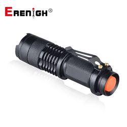 Регулируемый фокус Мини фонарик CREE Q5 2000 люмен светодиодный фонарик факел Фонари AA 14500 фонарь Linterna Фонарик светодиодный узел