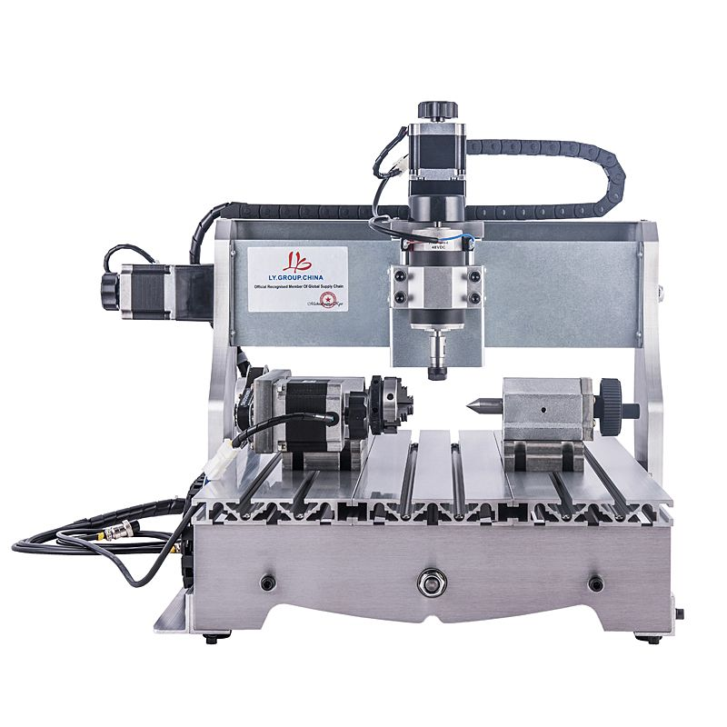 4axis CNC 3040 300W spindle motor Milling machine wood lathe tool engraver cnc router