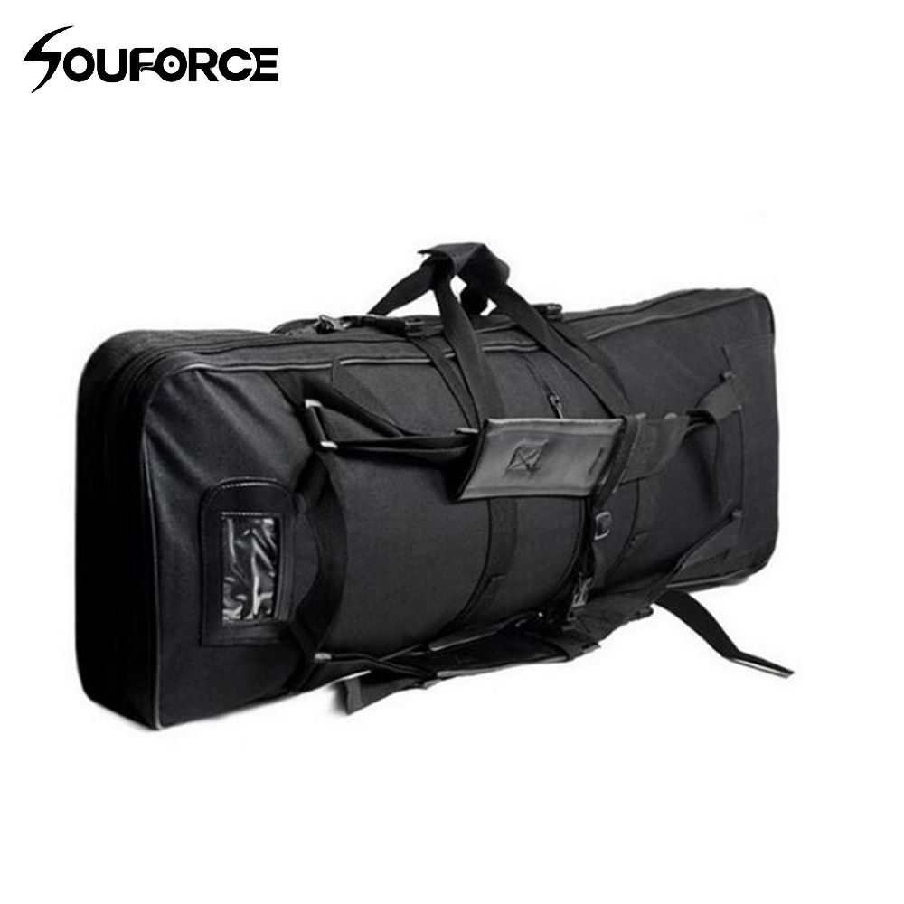 120cm Outdoor Military Hunting Backpack Tactical Air gun Rifle Square Carry Bag Gun Case