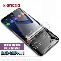 Protection Film Pour Samsung Galaxy S8 S9 Plus S7 Bord Doux Pleine Courbe Écran Protecteur Film Pour Samsung Note 8 (pas de Verre)