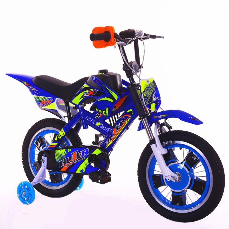 2018 New Motorcycle-style Children's Bike 12 16 20-inch Damping Mountain Boy 2-13 Years Old Child Cycling kids bicicleta