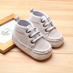 2018 Enfant En Bas Âge Bébé Chaussures Nouveau-Né Chaussures Garçon Et Filles Loisirs Sport Chaussures Printemps Automne Infantile Chaussures Premiers Marcheurs