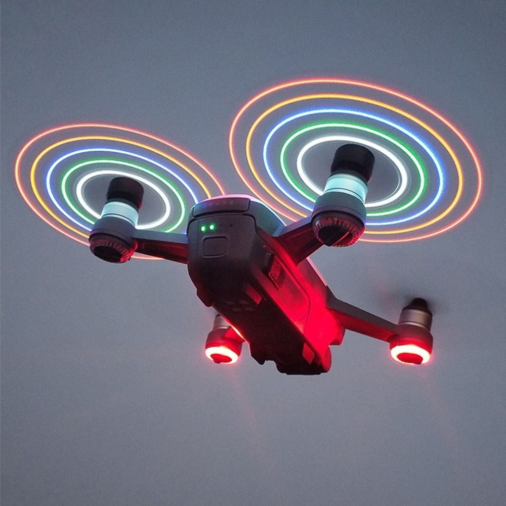 4730 LED Flash Schnell Release CW CCW Propeller Blades Requisiten Ersatzteile für DJI Funken RC Drone Quadcopter Aircraft UAV