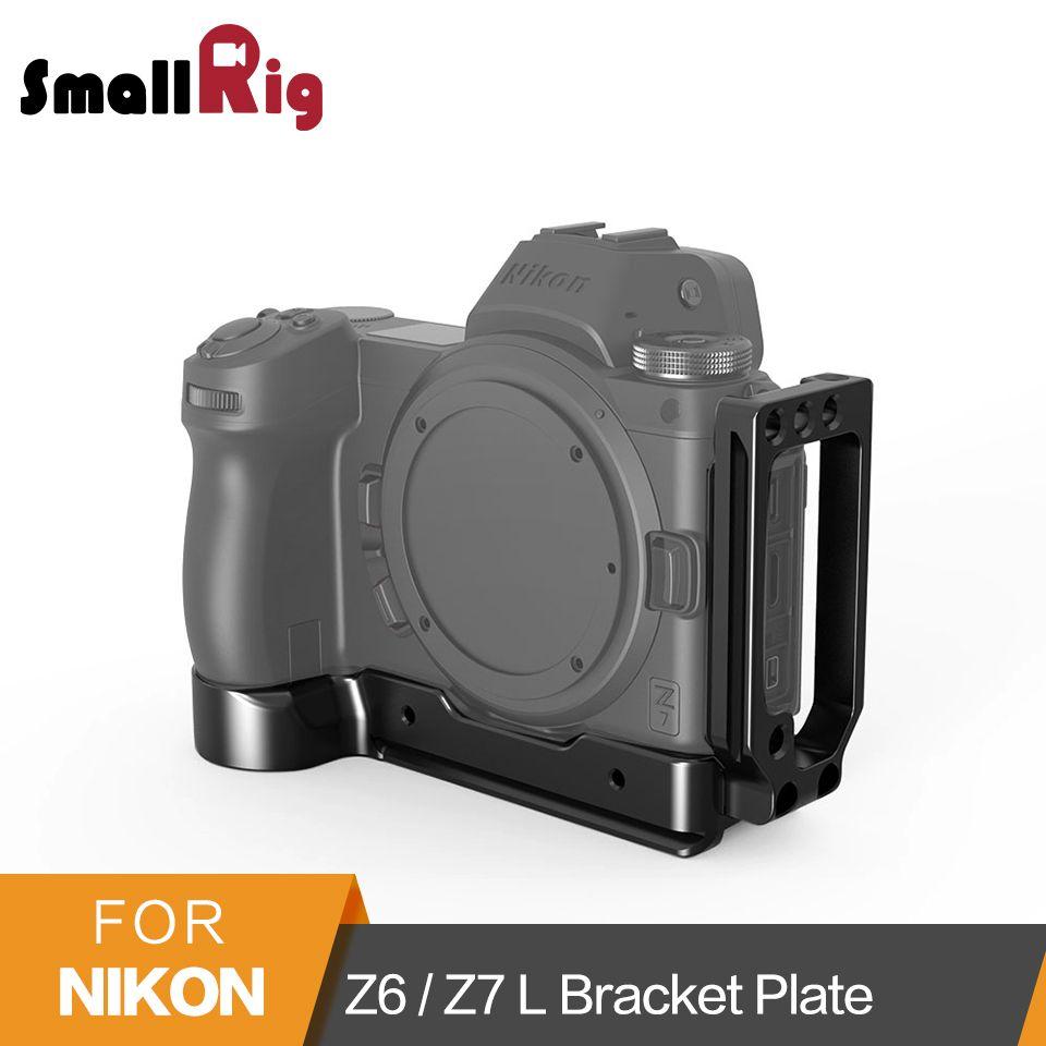 SmallRig L-Halterung Platte für Nikon Z6/Z7 Kamera Arca-Schweizer Standard L Platte Montage Seite Platte und Grundplatte-2258