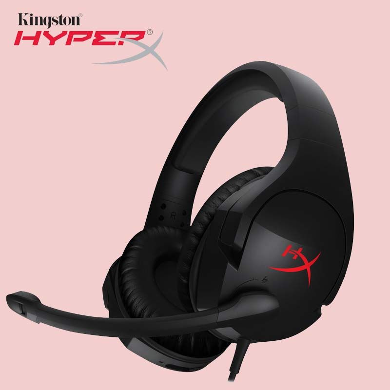 Kingston HyperX Cloud Stinger Auriculares Headphone Steelseries Gaming Headset Microphone Mic For PC PS4 Xbox Mobile Earphones