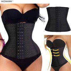 Unisex Waist Trainer Hot Shapers Waist Corset Slimming Belt Body Shaperwear Slimming Wraps Waist Strap Belt Modeling Corset