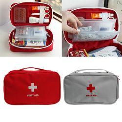 Primeros Auxilios portátil medicina supervivencia bolsa de almacenamiento caja de la píldora para el hogar de viaje Médicos Herramientas # y207e # Venta caliente