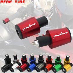 Accesorios de la motocicleta 7/8 ''22mm manillar mango tapa tapones para Bajaj Pulsar 200 NS/200 RS/200
