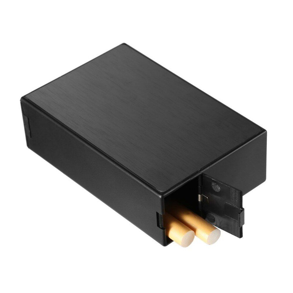 Aluminium Zigarre Zigarette Fall Tabak Halter Tasche Aufbewahrungsbox Behälter Rauchen Zubehör 91*59*28mm