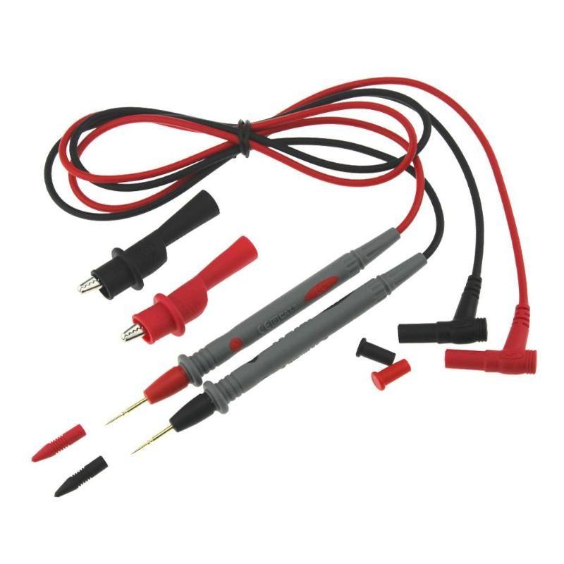 Universal-Sonde Test Führt für Multimeter mit Alligator Zangen PT1005 10A Multi Meter Tester Blei Sonde Draht Stift Kabel