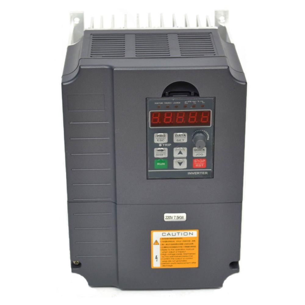 Vfd frequenz inverter 7.5kw 220 v 10HP variable frequenz umrichter motor speed controller