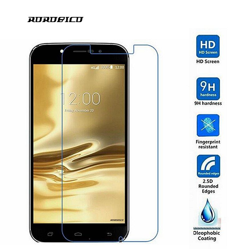 ROROBICO For UMI Rome X Screen Protector 0.26mm 2.5D 9H Front Film Premium Toughened Explosion-Proof Tempered Glass
