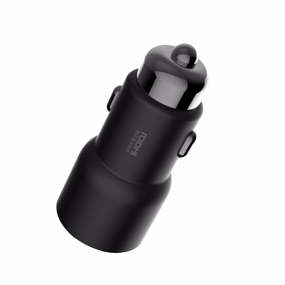 Xiaomi ROIDMI 3S Bluetooth 5V 3.4A Car Charger Music Player FM Smart APP for iPhone and Android Smart Control MP3 Player