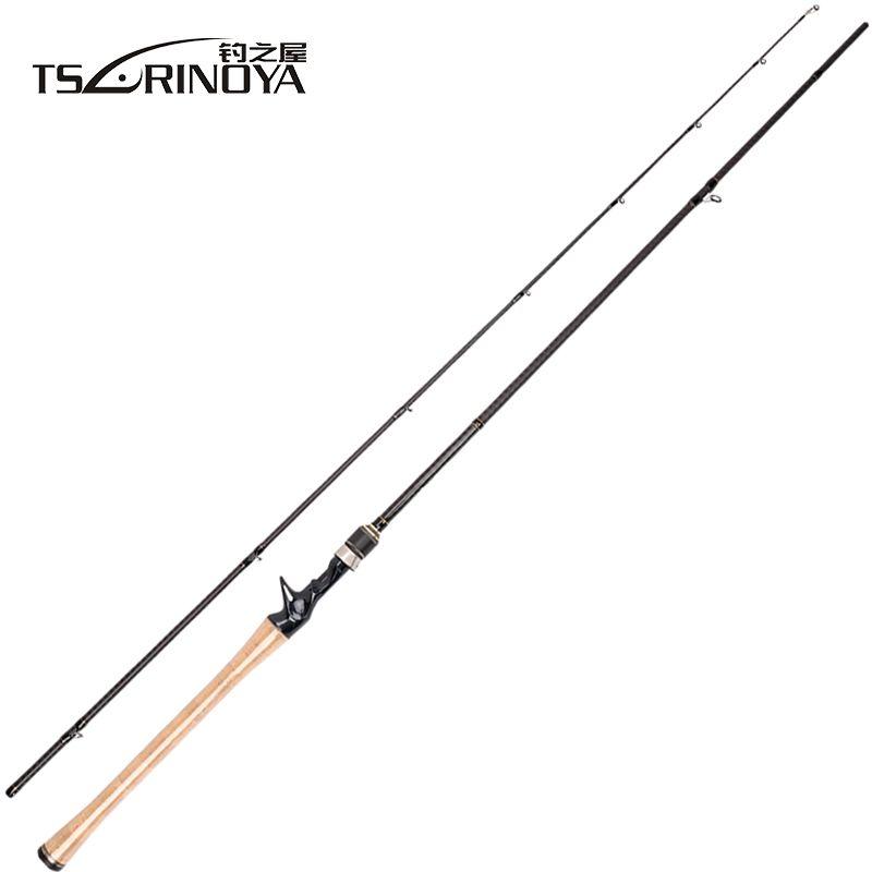 TSURINOYA PROFLEX II 1.89m 1.95m 2.13m Casting Fishing Rod 2 Sec Fishing Pole Canne A Peche Vara De Para Pesca Carp Fish Stick