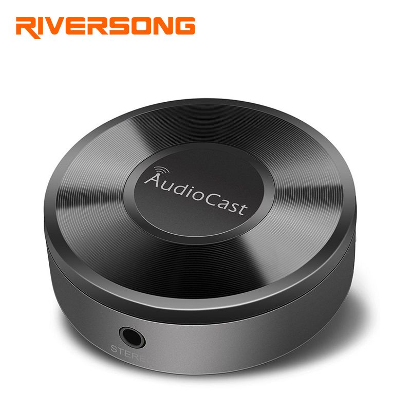 RIVERSONG Wireless Wifi Audio Receiver Audiocast M5 DLNA Airplay Support Spotify Wireless <font><b>Sound</b></font> Streamer
