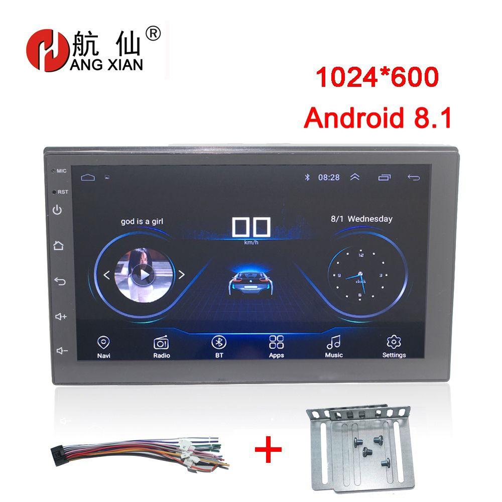 Android 8.1 car radio universal Car DVD Player GPS Navigation for Nissan Tiida QASHQAI x-trail Hyundai VW toyota KIA BYD Mazda